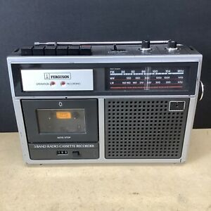 CLASSIC VINTAGE 1970'S 3 BAND FERGUSON 3T11 RADIO CASSETTE IN WORKING ORDER