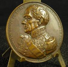 Médaille Georges Mouton maréchal comte de Lobau Borrel d'ap Dantan 1838 Medal