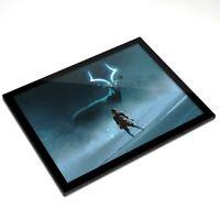 Glass Placemat 20x25 cm - Fantasy Stag Patronus Fantasy Art  #14088