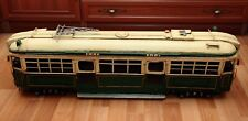 last rare MELBOURN TRAMCAR TRAMWAY Train tin toy tinplate car handmade CD holder