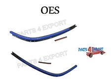 NEW Mini Cooper R52 05-08 Convertible Top Moulding Rear Set of 2 OES
