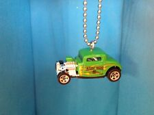 Hot Wheels 1932 Ford Flames Handmade Ornament - Hot Rod - Free Ship