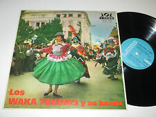 LP/LOS WAKA TOKORIS/Lauro LPLR 1.031 made on Bolivia