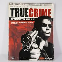 True Crime: Streets of L.A. Official Strategy Guide PS2 / Xbox / Gamecube