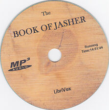 THE BOOK OF JASHER, AudioBook Mp3 CD