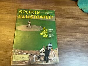 1960 Sports Illustrated Magazine BASEBALL PREVIEW - 04/11/1960