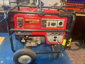 Honda EB5000 Generator Stromerzeuger Notstromaggregat
