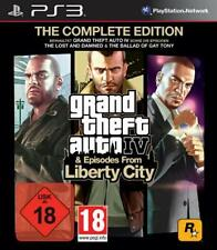 Playstation 3 GTA 4 COMPLETE + Episodes from Liberty City Top Zustand