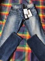 Saint Laurent Low Rise Blue Jeans Size 33