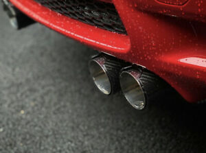 BMW E90 M3 S65 M Performance Style Carbon Fibre Exhaust Tips (2008 - 2013)
