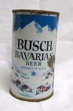 Busch Bavarian Beer Flat Top Can Anheuser-Busch Los Angeles Ca