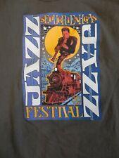 vintage eureka springs jazz festival t-shirt Xl