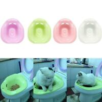 Cat Toilet Training Kit Cleaning System Pets Potty Pretty Litter Urinal A2F8