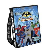 BATMAN Unlimited Swag Bag Backpack WB DC TV Tote  SDCC 2015 Comic Con Arrow