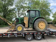 2004 John Deere 6420 Tractor W/ Side and Boom Mower 4800 Hours (Municipal)