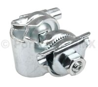 """BMX and cruiser bicycle railed seat guts / clamp - 7/8"""" 22.2mm - SILVER - NEW!"""