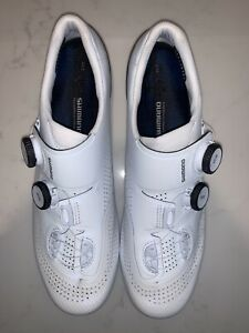 Shimano S-Phyre RC902, White, Size EU 44.5 - Used Once On Turbo