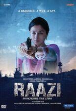 RAAZI DVD - ALIA BHATT, VICKY KAUSHAL - 2018 BOLLYWOOD MOVIE SPECIAL EDITION DVD