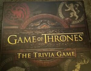 HBO Game Of Thrones - Trivia Game NEW