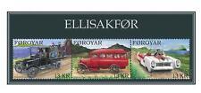 Faroer 2011 Oude auto's  old cars blok    postfris/mnh