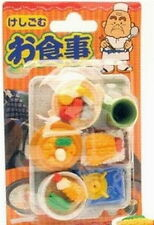 Japanese Iwako Dinner Take Apart Eraser Set  S-1838 AU