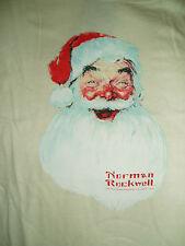 Norman Rockwell Santa Face T Shirt - Medium