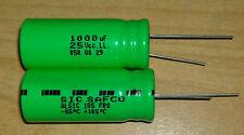 CONDENSATEUR CHIMIQUE RADIAL - 1000µF 25V - ALSIC105 - SIC SAFCO - -55/+105°