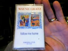 Wayne Gratz- Follow Me Home- new/sealed cassette tape