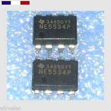 AmpOp - NE5534P  faible bruit - 2 Pcs - Amplificateur Opérationnel