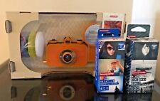 "Lomographic La Sardina & Flash Orinoco Ochre ""Orange"" Camera 35mm"