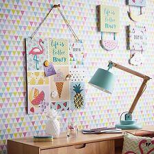 Bouffon Papier Peint Géométrique Clair - Arthouse 696005 Triangles