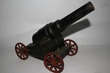 Early Cast Iron Big Bang  carbide cannon on Wheels Lot #2