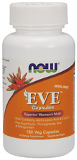 NOW FOODS Eve Superior Women's Multi 120 Veg Capsules FREE WORLDWIDE SHIPPING