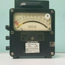 Vintage Weston Electrical Instrument Corp Model 433 Ammeter 25 125 Cycles P1