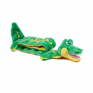 Outward Hound Squeaker Matz Plush Gator Dog Toy XXL