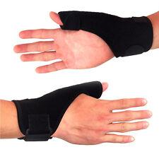 Wrist and Thumb Brace Support Splint for Carpal Tunnel Scaphoid Sprain Strain