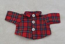 ***Neu: Kleines rot blau kariertes Hemd für Bären**