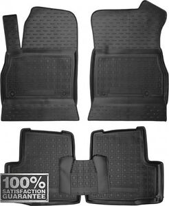 Rubber Carmats for Opel Astra K 2015-2017 All Weather Floor Mats Fully Tailored