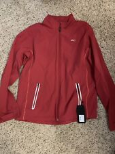Kjus Domus Mens Jacket Red Size 52 Large Mg15-604s 38422