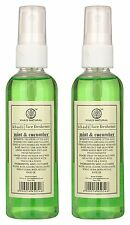 Pack of 2 Khadi Mint And Cucumber Face Spray, 100ml Each