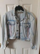 La Gear Jean women's medium Jacket Vintage 80s/90s