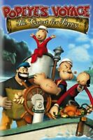 POPEYES VOYAGE QUEST FOR PAPPY - DVD- Brand New & Sealed -Fast Ship! VG-334