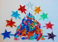 Small Twist 100 Bulbs And 9 Classic Stars Vintage Ceramic Christmas Tree Lights