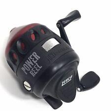 Zebco Red Rhino Power Reel Spincaster Fishing 3.5:1 Gear Ratio Push Button USA