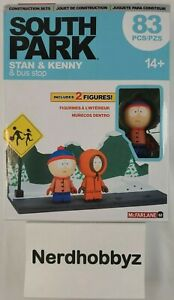 South Park Stan & Kenny & Bus Stop McFarlane Toys - New In Hand FREE Shipping