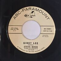 Steve Rossi Ginny Lee There's A Broken Heart EX PROMO WLP popcorn northern soul