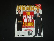 2001 JULY MONEY MAGAZINE - NATHAN LANE & MATTHEW BRODERICK - SP 6145