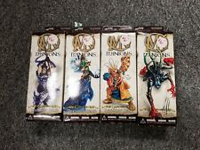 Wizkids Mage Knight Minions Expansion 4 Booster Box Lot Factory Sealed 2002