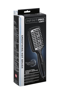 Infiniti Pro Conair Smoothing Hot Brush Straightens -Shines & Removes Frizz- EUC
