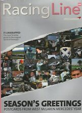 Racing Line Official TAG McLaren Magazine Formula 1 F1 Issue #46 December 2001